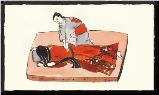 Shiatsu Behandlung